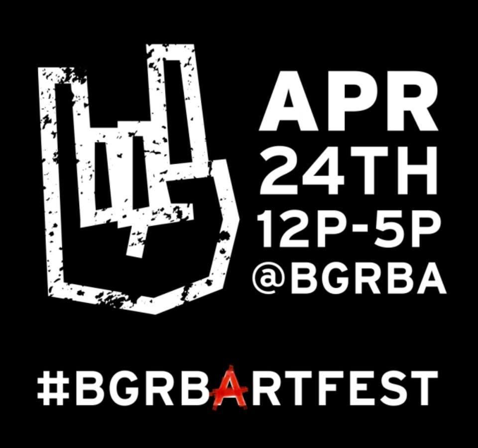 Bowling Green Rock Band Academy Art Fest - April 24th - 12p - 5p